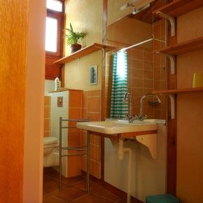 Salle de bains accessible aux handicapés