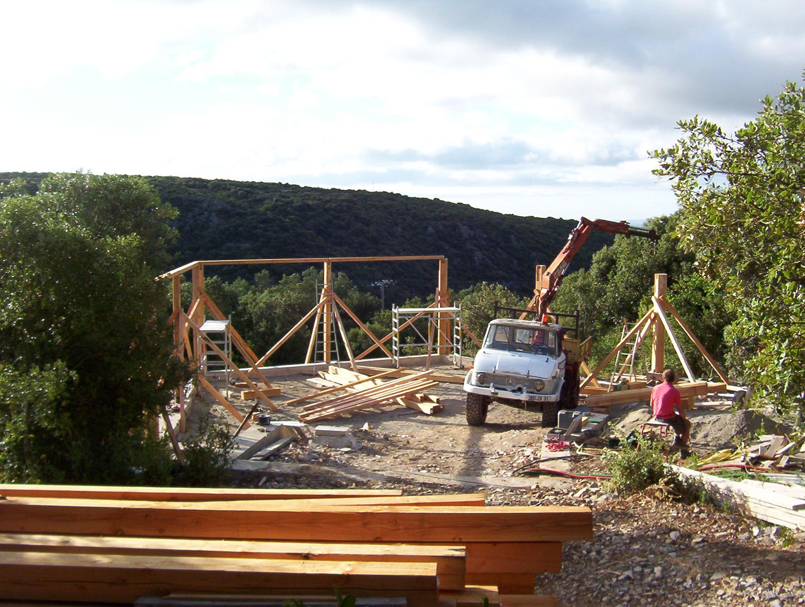 Construction du gîte de la Paissière – architecturenature