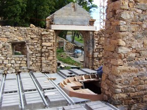 Plancher béton de consolidation pour les constructions les plus fragiles