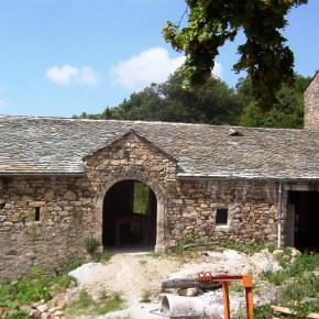 Couverture en lauze restaurée