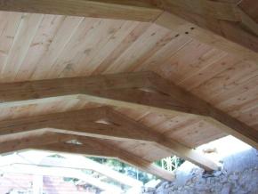 Sous face bois des toitures et des planchers bois