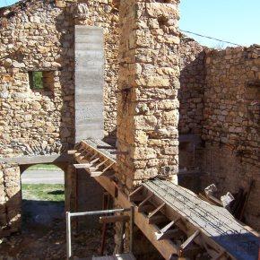 Consolidation des maçonneries de pierre en mauvais état